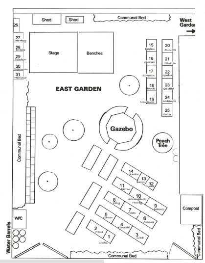 Sample of what your schoolyard map could look like