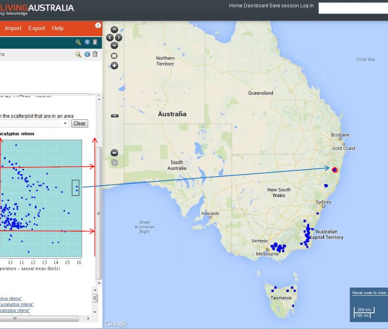 Australia Land Map.Mapping Analysis Atlas Of Living Australia