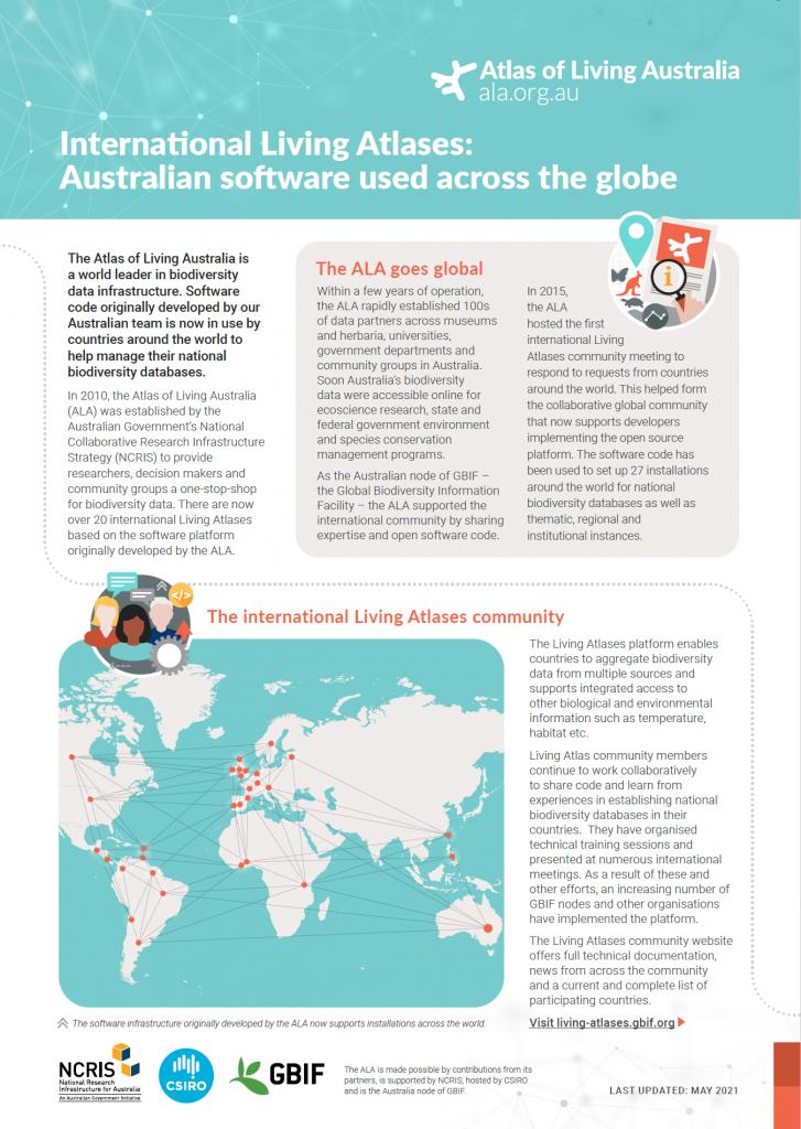International Living Atlases fact sheet cover