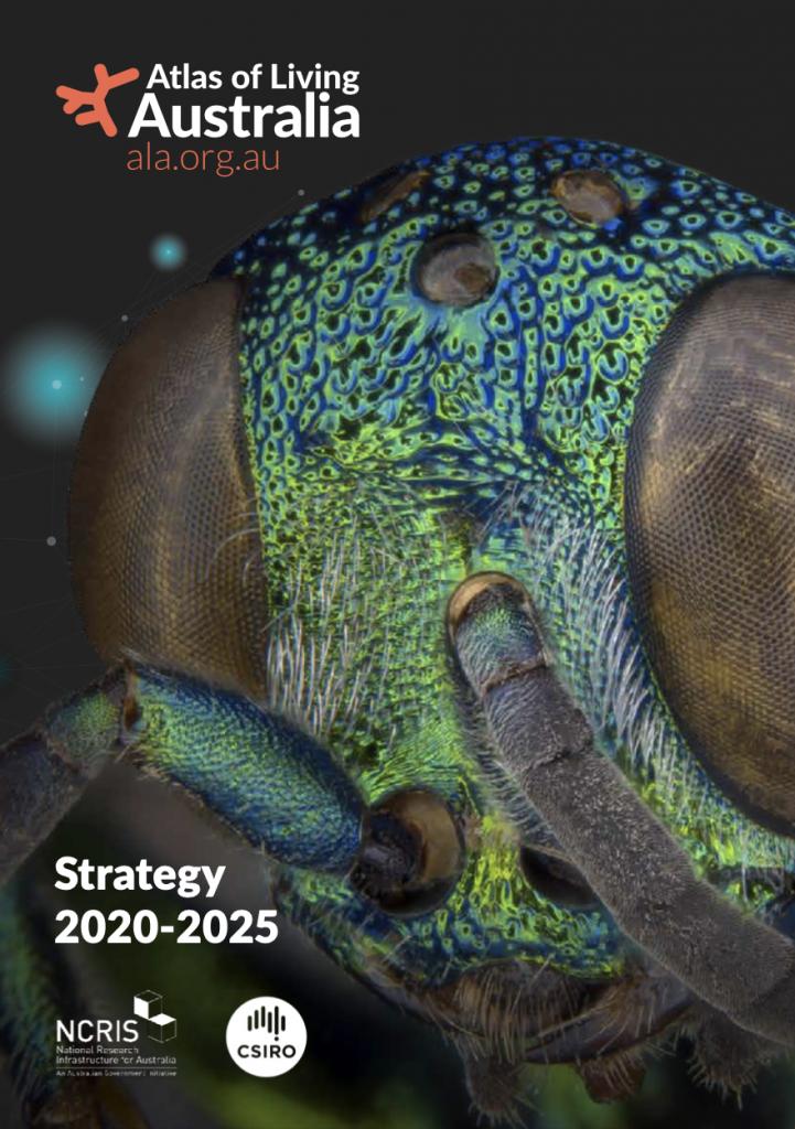 Atlas of Living Australia Strategy 2020-2025 cover