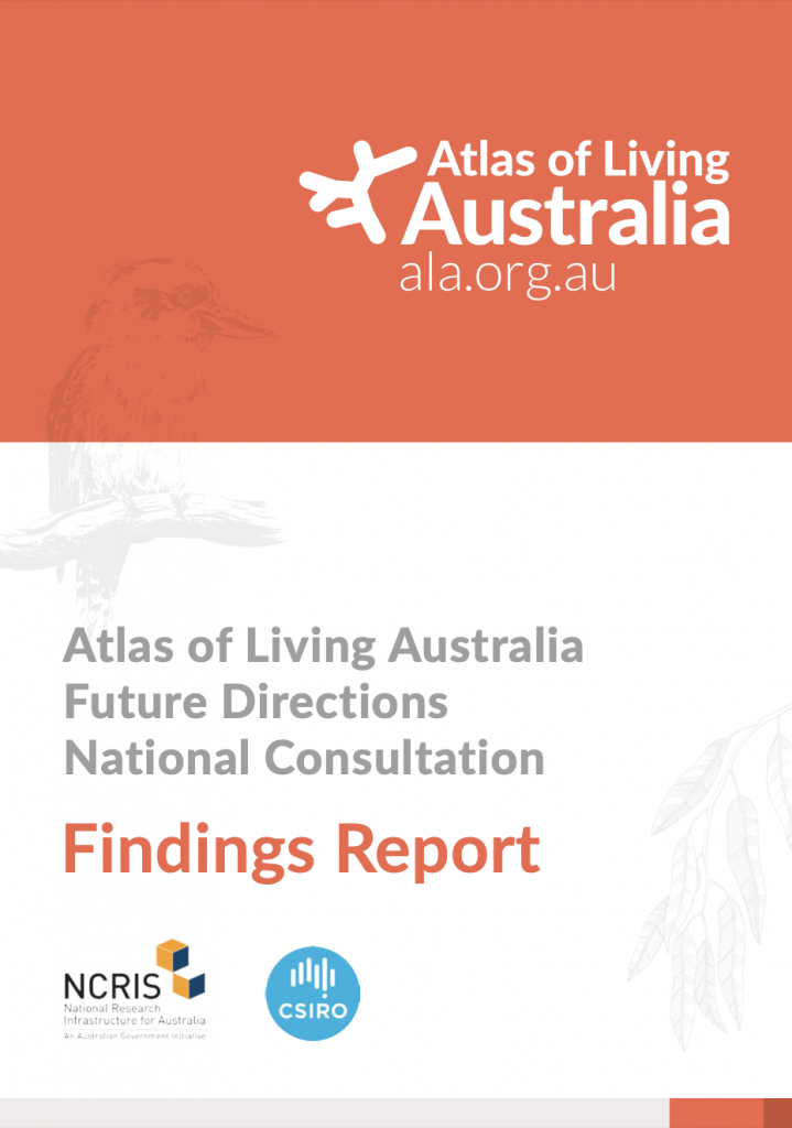 ALA Future Directions National Consultation Findings Report cover