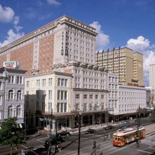 New Orleans Crowne Plaza Hotel