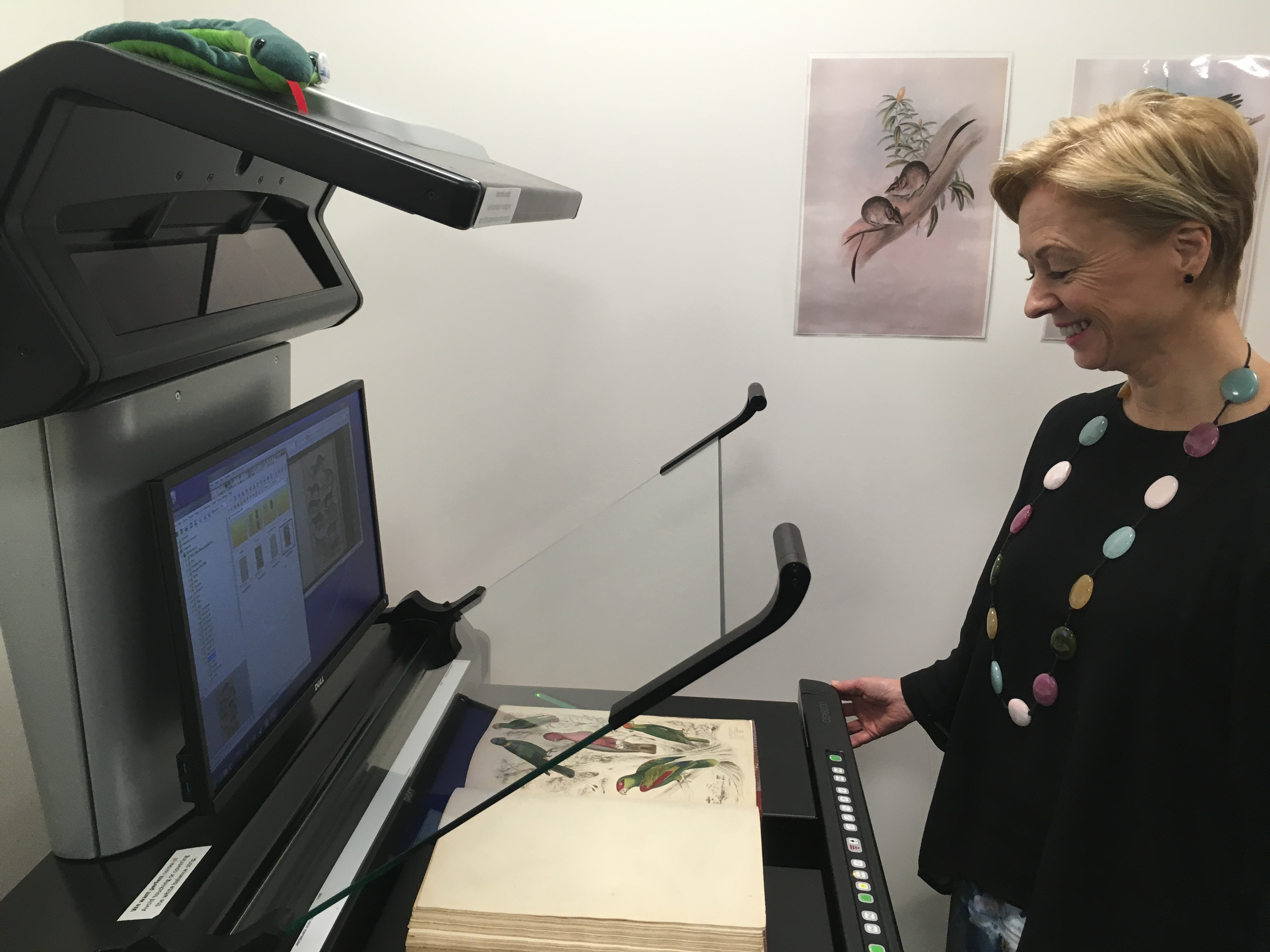 Image: A New Scanner for Digitizing Australia's Biodiversity Heritage