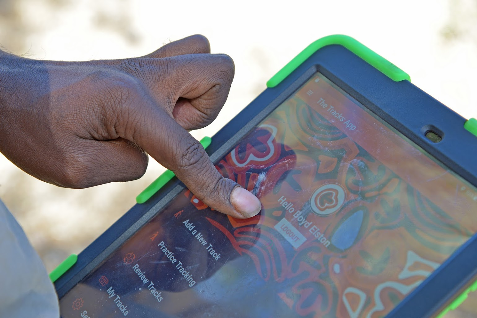 Image: The Tracks App: a bi-lingual mobile app exploring biodiversity in an indigenous context