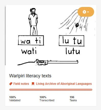 Image: Living Archive of Aboriginal Languages