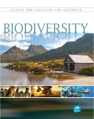 Front cover of CSIRO's new book 'Biodiversity: Science and Solutions for Australia'