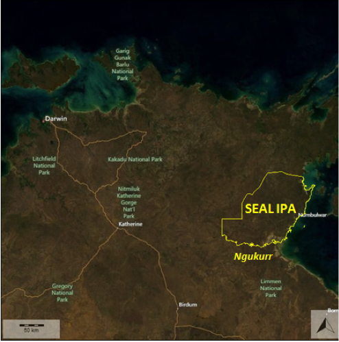 Image of south east Arnhem Land proposed IPA area