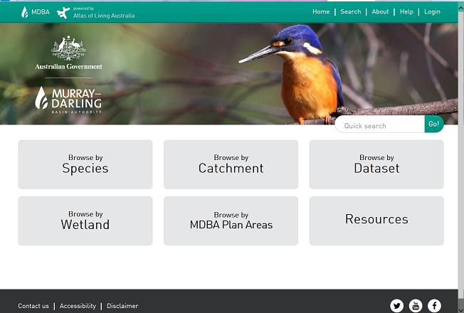 Image: Murray–Darling Basin Authority – new ALA hub