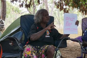 Cherry Daniels inspiring women rangers and young people of east Arnhem Land